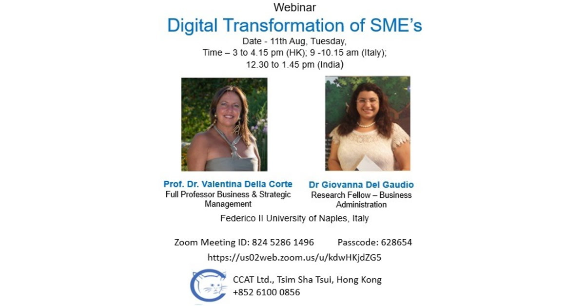 Digital Transformation of SME's